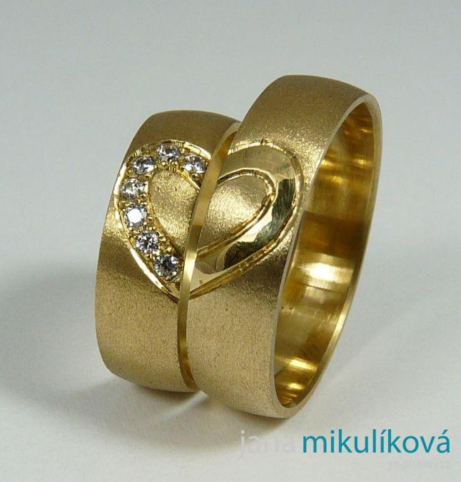 Vzor C 19 13 600 Snubni Prsteny Na Zakazku Jana Cimbalnikova