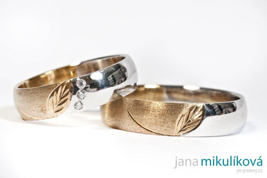 Vzor C 8 11 500 Snubni Prsteny Na Zakazku Jana Cimbalnikova